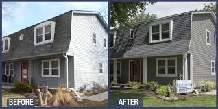 gambrel style roof groovy gambrel style roof and whole house siding replacement opal