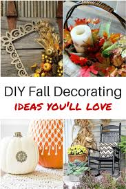 Fall Decor Diy - ways to spruce up your home with diy fall decor diva of diy