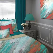 shop coral bedding full on wanelo