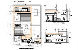 layout denah cafe denah hotel