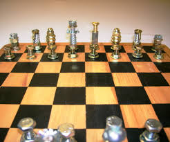 hardware chess set 8 steps with pictures