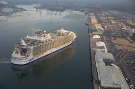 Royal Caribbean Harmony Of The Seas by Royal Caribbean U0027s Harmony Of The Seas Docks In Southampton From
