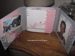 Couverture Album Photo Scrapbooking Mini Album Scrap Communion Nini Scrap Tard Ce Soir