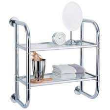 Bathroom Wall Mounted Shelves Bathroom Organization Shelving For Less Overstock