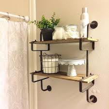 diy bathroom shelving ideas 44 awesome diy bathroom shelves ideas that you need right now