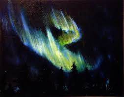 how to paint northern lights northern lights oil painting best painting 2018