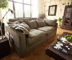 Wohnzimmer Couch Kaufen Delife Hussensofa Noelia 240x145 Cm Braun Couch Mit Kissen Big