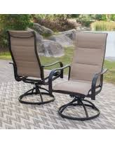 Swivel Patio Dining Chairs Winter Deals On Pride Family Brands Solaris Sling Rocker Swivel