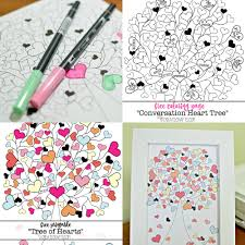 free valentines day themed coloring pages for adults smart apps