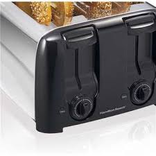 Hamilton Beach Cool Touch Toaster Hamilton Beach Brands Inc Hamilton Beach 4 Slice Chrome Toaster