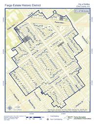 7th Ward New Orleans Map by Fargo Estate Historic District In The Works U2013 Buffalo Rising