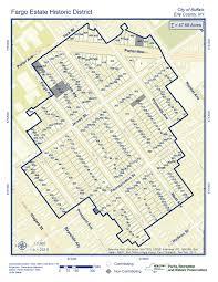 Map Of Fargo Fargo Estate Historic District In The Works U2013 Buffalo Rising