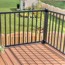 Decking Kits With Handrails Shop Metal Deck Railing Westbury Fortress Deckorators And