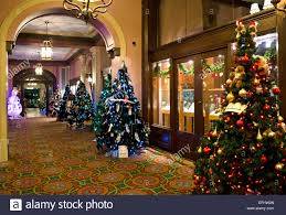 Christmas Decorations Cheap Canada by Hotel Interior Christmas Decorations Stock Photos U0026 Hotel Interior