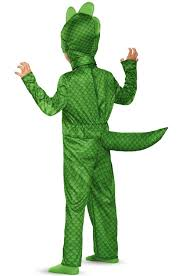 Invisible Halloween Costume Pj Masks Gekko Classic Toddler Costume Walmart