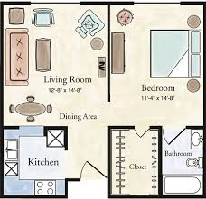 1 bedroom floor plan independent living one bedroom apartment floor plans larksfield