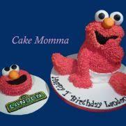 elmo smash cake 16 cakes cakesdecor