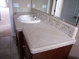 bathroom countertop tile ideas bathroom vanity backsplash design ideas donchilei