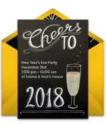 new year invitation free new year s online invitations punchbowl
