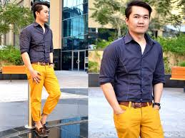 What Colors Go With Yellow Mustard Yellow Pants Will You Give Them A Try U2013 Men Street Style