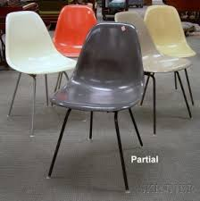 Eames Fiberglass Armchair Search All Lots Skinner Auctioneers