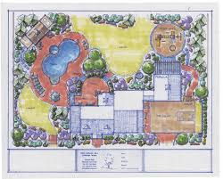 Design A Backyard Big Estate Home Landscaping Plans This Design Layout Covers Most