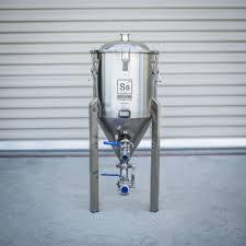the chronical fermenter 7 gallon stainless steel conical fermenter