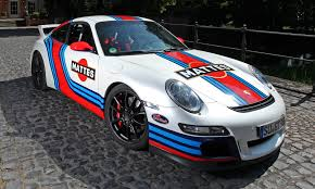 porsche germany germany is mad for car wraps martini style racing livery by cam