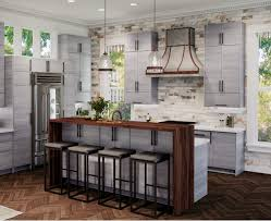 grey stained shaker kitchen cabinets gray kitchen cabinets vevano home