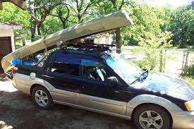 subaru baja canoe rack question scoobytruck com