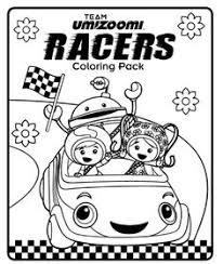 kids fun coloring team umizoomi bot color sheets