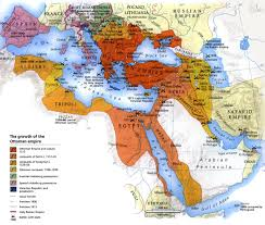 map of ottoman empire the growth of the ottoman empire toptenz