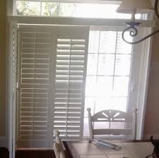 Sliding Plantation Shutters For Patio Doors Sliding Door Shutters Like How These Stack To One Side Around