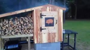 how to build a smokehouse my sowbelly bbq smokehouse youtube