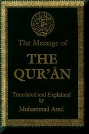 the message of the qur an by muhammad asad qur an related topics