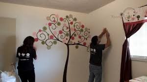 round321 how to install a large wall decal youtube round321 how to install a large wall decal