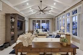 restoration hardware ceiling fan cottage living room with carpet restoration hardware library