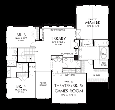 Craftsman Homes Floor Plans Mascord House Plan 2469 The Tualatin