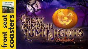 dollywood announces harvest festival u0026 great pumpkin luminights