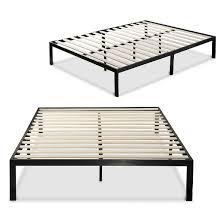 platform metal bed frame mattress foundation zinus 1000 sleep