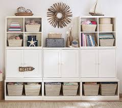 bedroom storage systems cameron wall storage system pottery barn kids