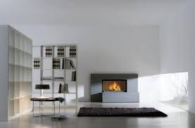 contemporary fireplace surround stone step pietra serena