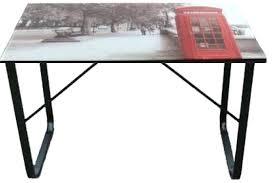 bureau plateau en verre plateau de bureau en verre ikea bureau plateau en verre tremp 8mm
