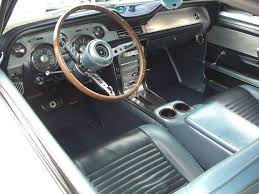ford mustang 1967 interior blue 1967 ford mustang gt gt fastback mustangattitude