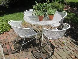 Wrought Iron Patio Furniture Glides by Graceful Model Of Remarkable Metal Patio Furniture Glides