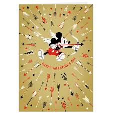 mickey mouse s day mickey mouse cupid jumbo s day card 19 25 greeting