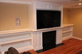 Mantel Bookshelf Fireplace Mantel With Bookshelves