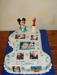 baby mickey first birthday cake cakecentral com