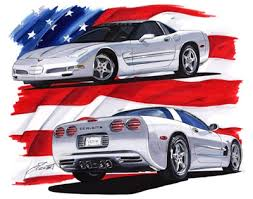 corvette poster flatout imaging corvette posters on sale for 9 95 while supplies