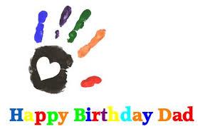 printable birthday card decorations card invitation design ideas dad birthday hand print card hand